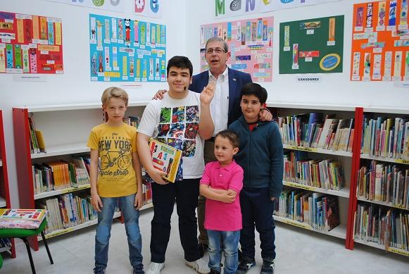 Entregados en Valdepeñas los premios del XVIII Concurso de Marca-páginas
