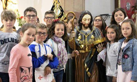 En La Solana, el VIII Caminillo de Santiago abrazó al Apóstol en San Sebastián