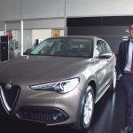Serviauto ya admite pedidos del Alfa Romero StelvioFirst