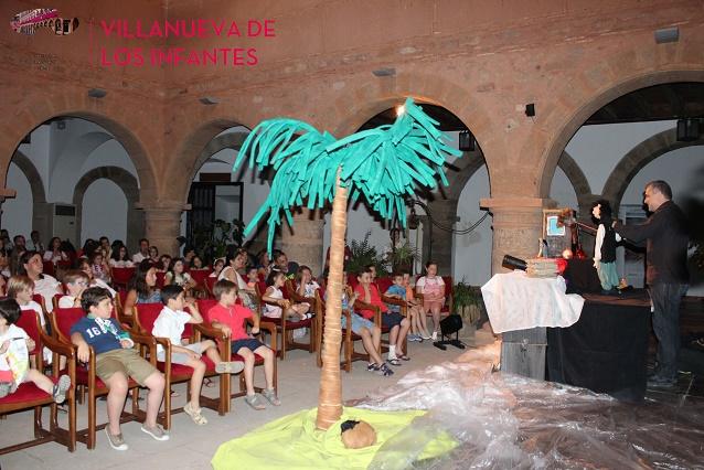 Los Bucaneros toman el escenario de la Alhóndiga en Villanueva de los Infantes