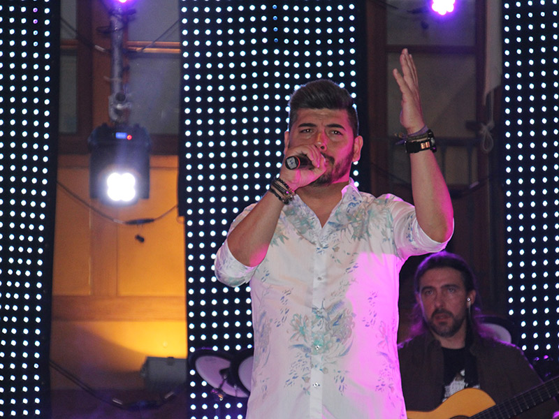 Demarco Flamenco arrasó en la Plaza Mayor de La Solana