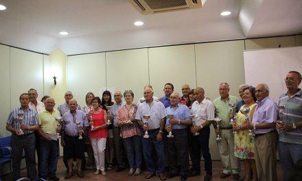 El Centro de Mayores celebró los campeonatos previos a la feria