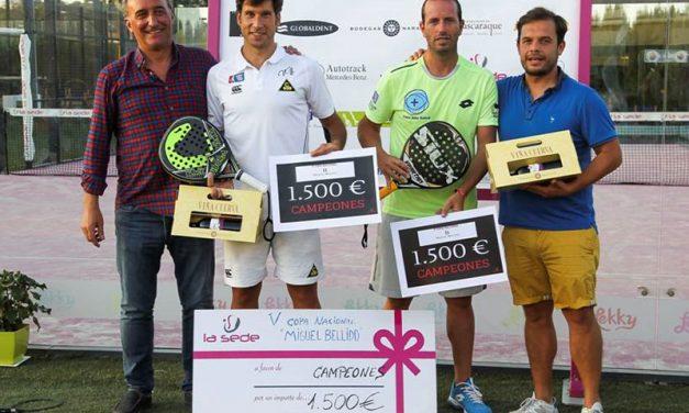 """Gran éxito de la V Copa Nacional """"Miguel Bellido"""" en Pádel La Sede"""