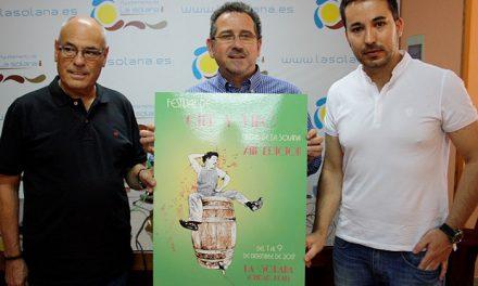 El XIII Festival de Cine y Vino «Ciudad de La Solana» presenta su imagen oficial, obra de Lourdes Alhambra