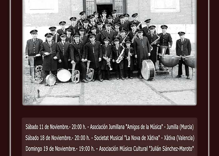 """El Encuentro Nacional de Bandas de Música """"Daniel González Mellado"""" celebra su XVII Edición con tres grandes conciertos en el Gran Teatro"""