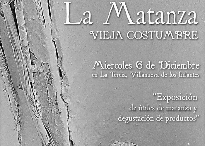 La Tercia albergará el 6 de diciembre la Exposición 'La Matanza. Vieja Costumbre'