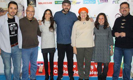 """La actriz Rosario Pardo visitó la sección oficial del """"CineyVino de La Solana"""" con """"3 gramos de fe"""""""