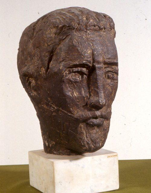La escultura 'Estudio de la Cabeza' de José Luis Sánchez, pieza del mes de 'Vive tu museo'