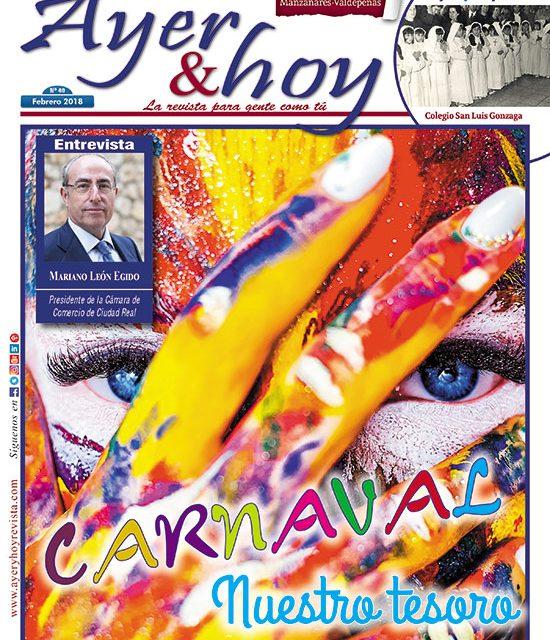 Ayer & hoy – Manzanares-Valdepeñas – Revista Febrero 2018