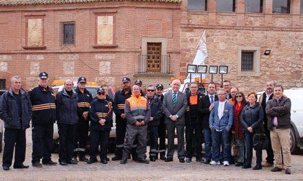 La Junta reequipa a varias agrupaciones de Protección Civil