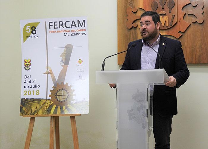 Incremento de expositores y presupuesto en la 58º edición de Fercam, que se celebrará del 4 al 8 de julio