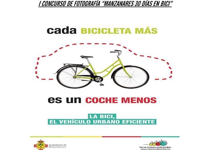 """Reivindicación del uso de la bicicleta con el concurso de fotografía """"Manzanares 30 días en bici"""""""