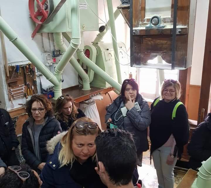 Visita a Harinas Simón del programa Erasmus+