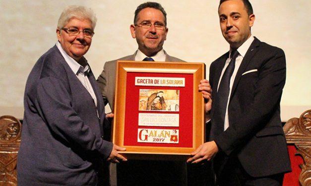 El Colegio San Luiz Gonzaga y las Hijas de la Caridad recibieron el Galán 2017