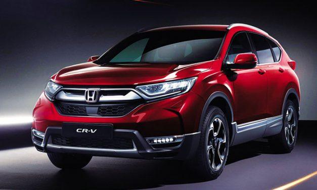 Honda presenta la nueva generación del CR-V para Europa