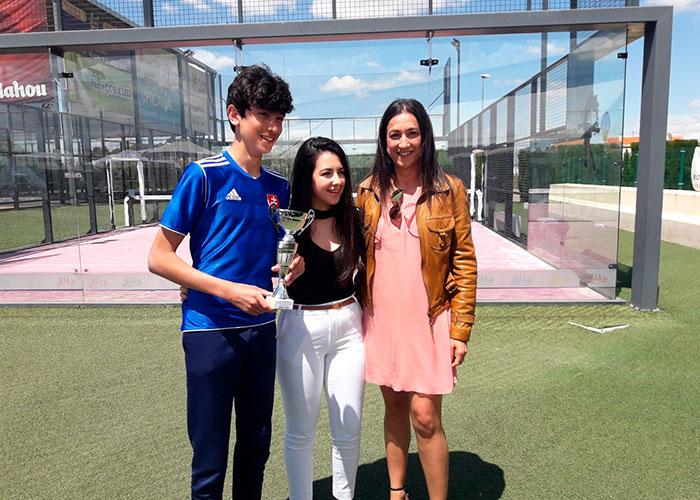 Apasionante torneo de pádel del Colegio Don Cristóbal