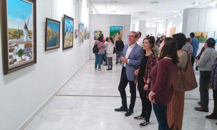 La Confianza abre sus puertas a la exposición de los 31º Talleres de Artes Plásticas 'Daniel de Campos'
