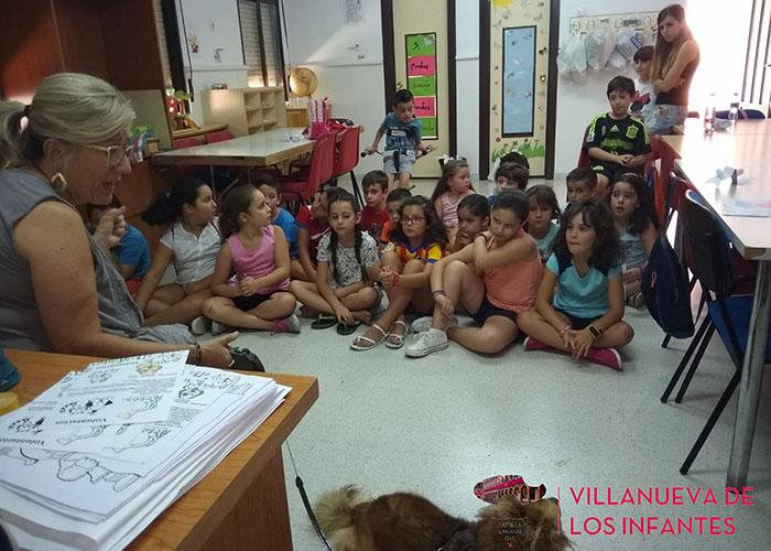 La Asociación Defensora de Animales Actüa conciencia a los más pequeños sobre la importancia de cuidar y respetar a los animales