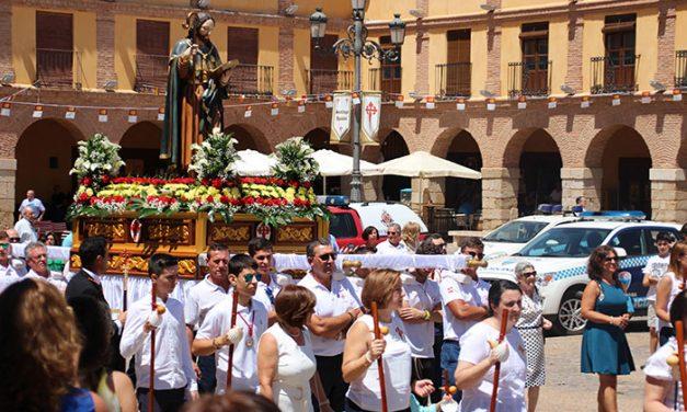 La Solana honró a Santiago Apóstol en el día grande de la feria