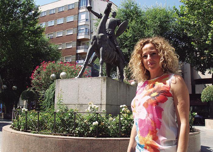 Cristina Tirado, Presidenta de la Asociación de Jóvenes Empresarios de Ciudad Real