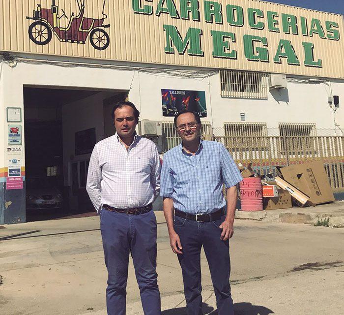 Carrocerías Megal: Especialistas en la reparación de chapa y pintura de vehículos