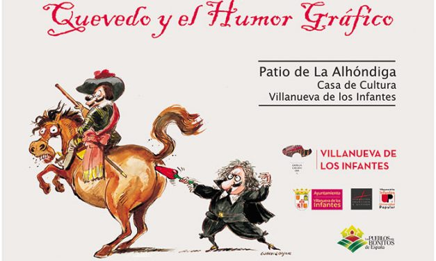 La Alhóndiga acoge la exposición de Humor Gráfico sobre Quevedo de la Fundación Francisco de Quevedo