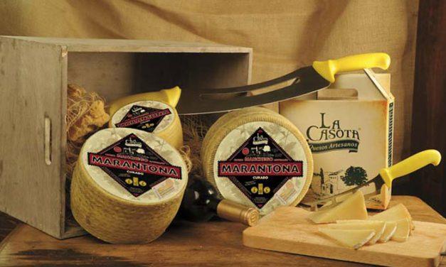 El queso 'Marantona Curado' de La Casota se alza con el Premio 'Super World' del World Cheese