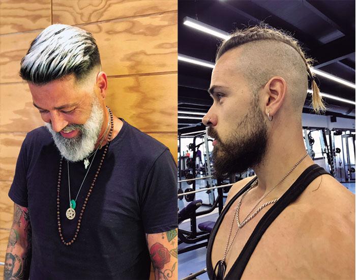 La peluquería masculina está cambiando