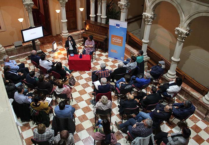 Valdepeñas, uno de los 5 municipios de la región escogidos para 'Habla de Europa en tu ciudad'
