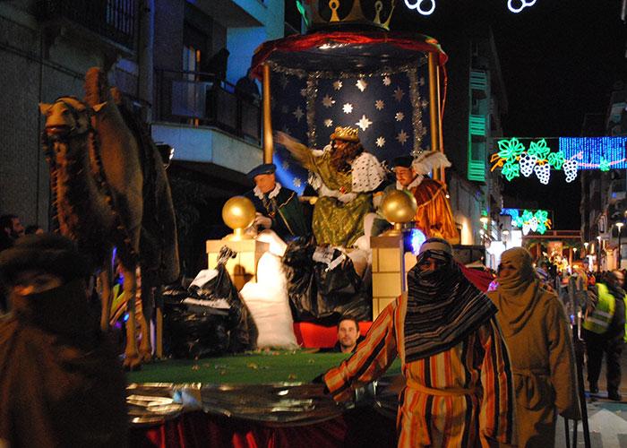 Los Reyes Magos llegarán este sábado a Valdepeñas con sorpresa en la Plaza de España