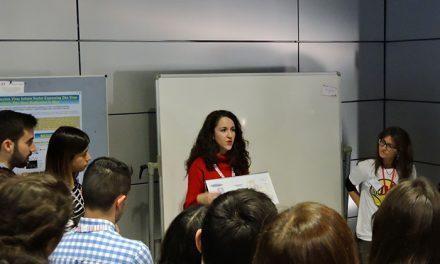 La doctoranda manzanareña de la UCLM Lorena Mazuecos gana un concurso nacional de pósteres de investigación