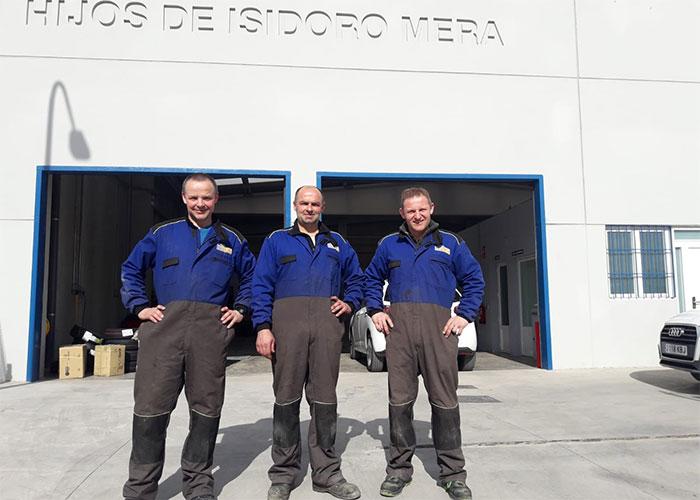 Hijos de Isidoro Mera, especialistas en todo tipo de neumáticos