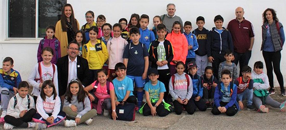 Escolares de 4º de Primaria visitan la potabilizadora para conocer el ciclo integral del agua