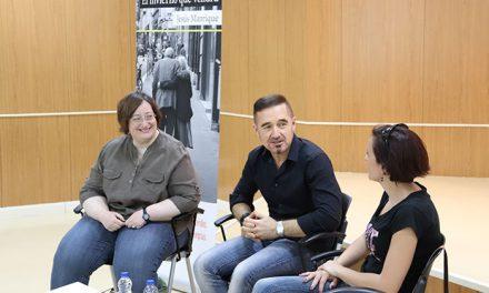 El club de lectura finaliza el curso con un encuentro literario con Jesús Manrique