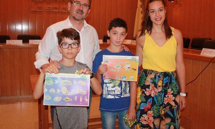 Dos niños solaneros entre los premiados en el XVII Concurso Digital de Dibujo Infantil 'Aqualia'