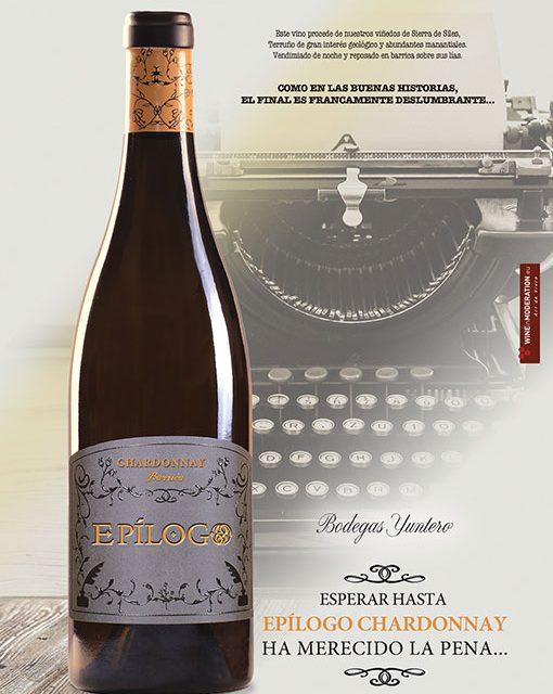 El blanco Epílogo Chardonnay 2018, con paso por barrica, novedad de Bodegas Yuntero para FERCAM