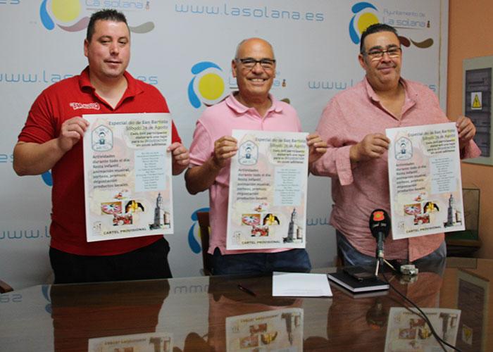 La Asociación de Hosteleros de La Solana anuncia una nueva edición de San Bartolo