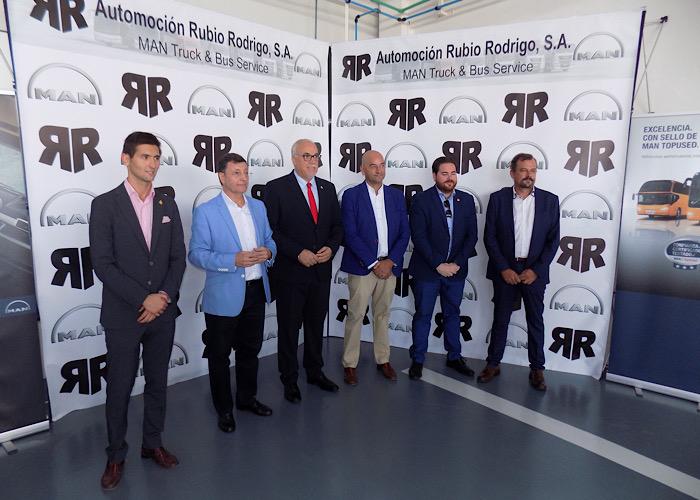 Automoción Rubio Rodrigo, concesionario oficial MAN para la provincia, inaugura sus nuevas instalaciones