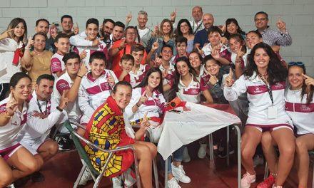 Integrantes del equipo de competición de Team Padel participaron en el Campeonato de España de menores de SSAA de pádel
