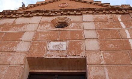 El deteriorado yeso de la ermita de San Blas se sustituirá por mortero