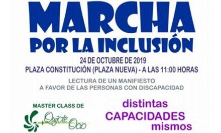 Valdepeñas celebrará mañana su Marcha por la Inclusión, 'Distintas capacidades, mismos derechos'