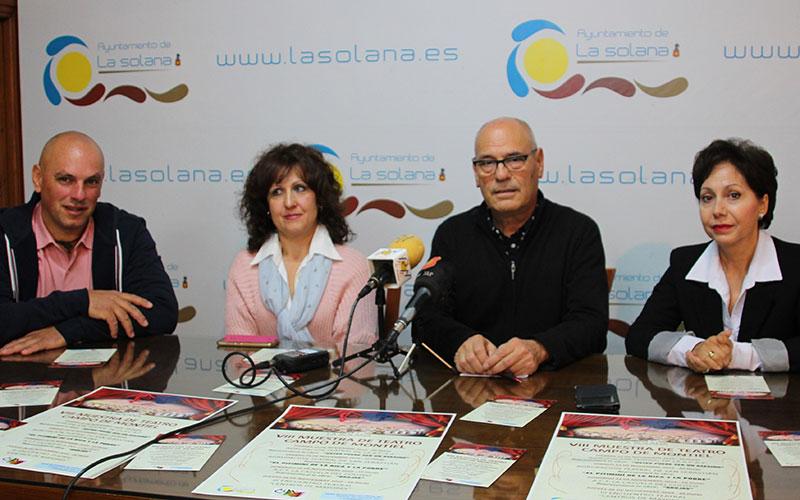 Del 15 al 28 de noviembre se desarrollará la VIII Muestra de Teatro 'Campo de Montiel'
