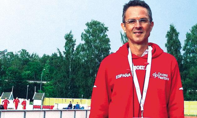 Antonio Serrano Sánchez, exatleta olímpico y entrenador nacional