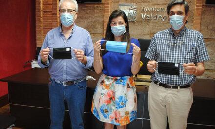 Mascarillas solidarias para recaudar 8.000 euros destinados a los colectivos sociales de Valdepeñas
