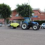 La 'brigada antivirus' rocía las calles con unos 7.000 litros de desinfectante
