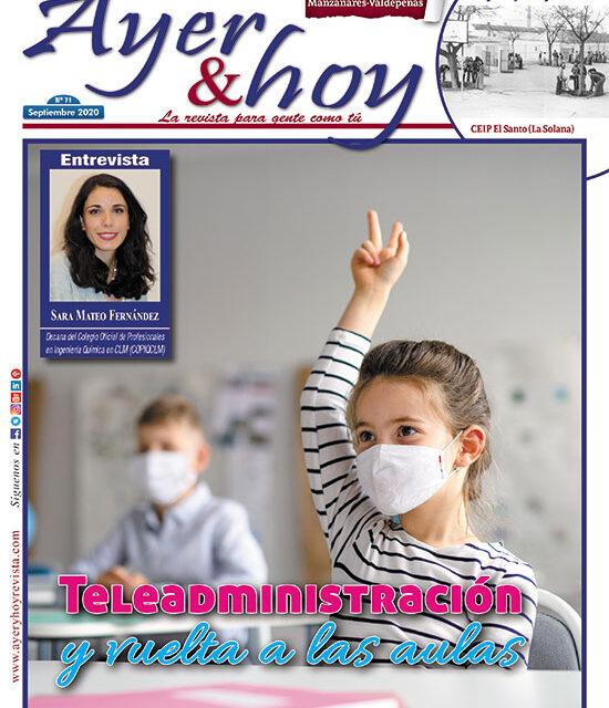 Ayer & hoy – Manzanares-Valdepeñas – Revista Septiembre 2020