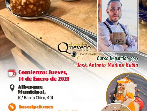 La Universidad Popular de Infantes organiza un Curso de Cocina impartido por José Antonio Medina Rubio