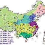 Desaparición de ríos en China