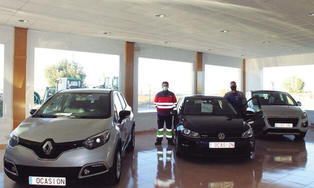Nueva sección de venta de vehículos de ocasión en Talleres y Grúas Arroyo