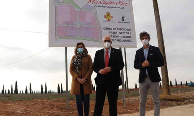 El Ayuntamiento de Manzanares invierte 1,7 millones de euros en la primera fase del polígono del Sector 5